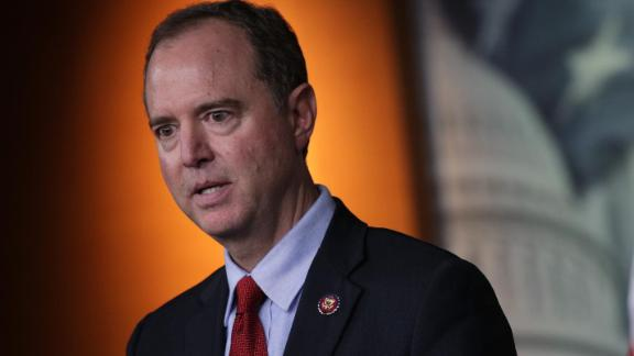 WASHINGTON, DC - OCTOBER 15:  U.S. House Intelligence Committee Chairman Rep. Adam Schiff (D-CA) speaks during a news conference at the U.S. Capitol October 15, 2019 in Washington, DC. Speaker of the House Rep. Nancy Pelosi (D-CA) said she is holding off on a full House vote to authorize an impeachment inquiry against President Donald Trump.  (Photo by Alex Wong/Getty Images)