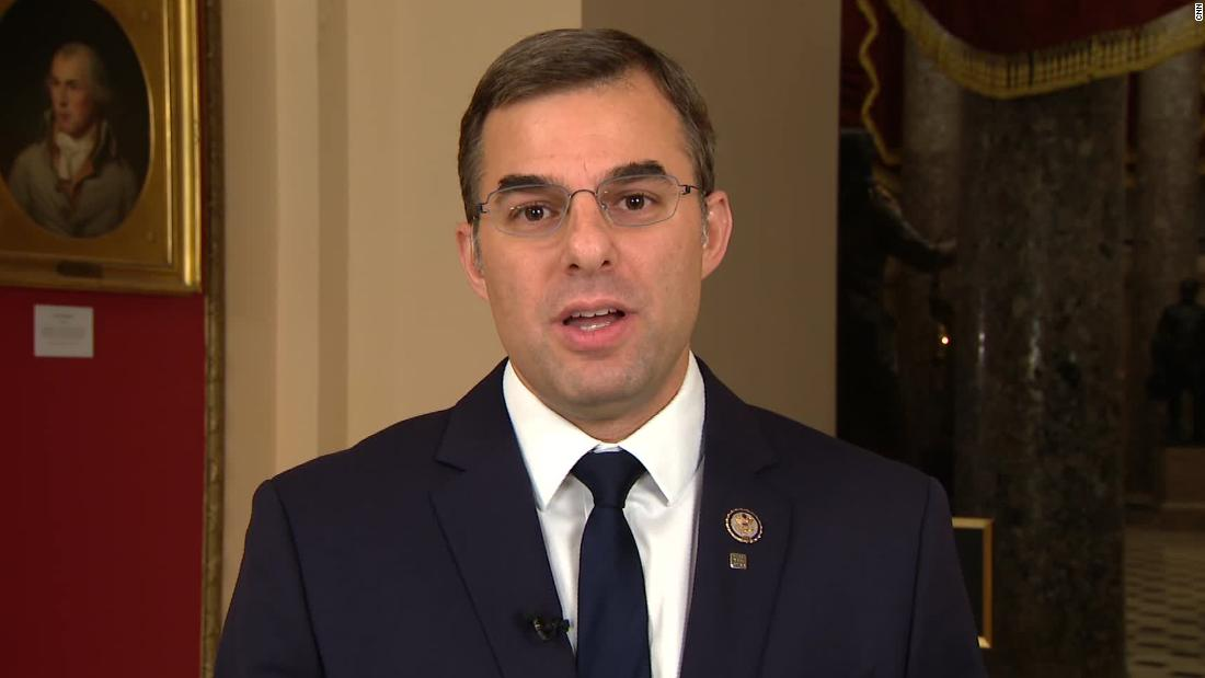 Amash: Republicans wish they weren't 'trapped' into defending Trump