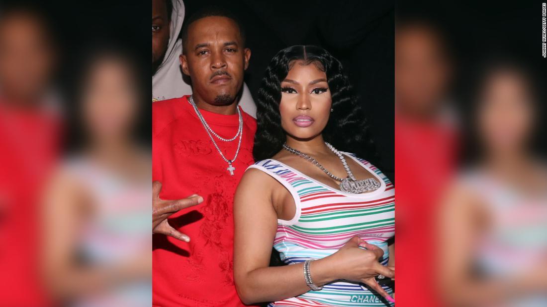 Nicki Minaj apparently married Kenneth Petty