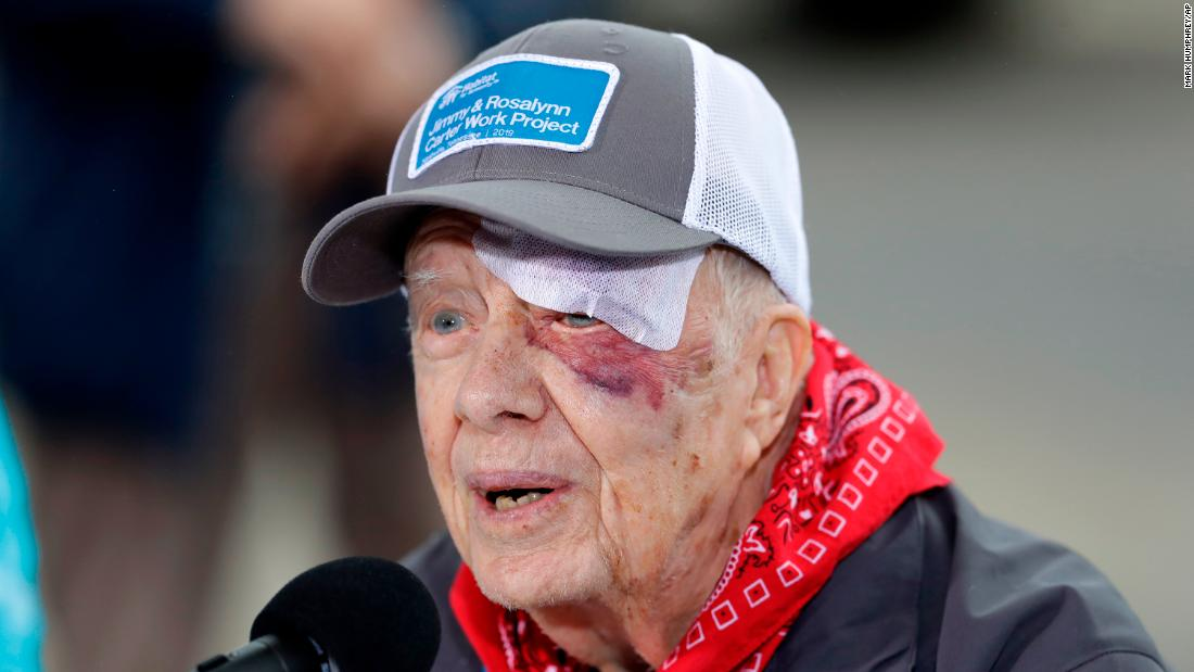 President Jimmy Carter Actually Will Be Teaching Sunday School This Weekend Cnn