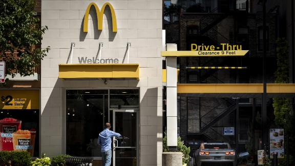 McDonald's sales growth missed expecations in the third quarter.