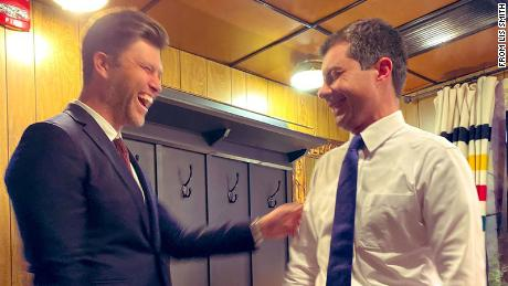"From Harvard to SNL: How Pete Butigigig and Colin Jost cross paths 1<div class=""e3lan e3lan-in-post1""><script async src=""//pagead2.googlesyndication.com/pagead/js/adsbygoogle.js""></script>