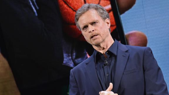 NEW YORK, NY - MARCH 16:  Chief Executive Officer of Nike, Inc, Mark Parker speaks during the Nike Innovation For Everybody Unveiling at Skylight at Moynihan Station on March 16, 2016 in New York City.  (Photo by Mike Coppola/Getty Images)