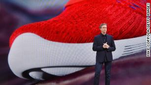 representación Desde Brillar  Nike CEO Mark Parker to step down after 13 years