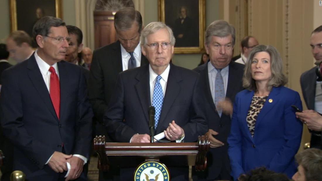 Senate Republicans come around to idea of not having witnesses in impeachment trial