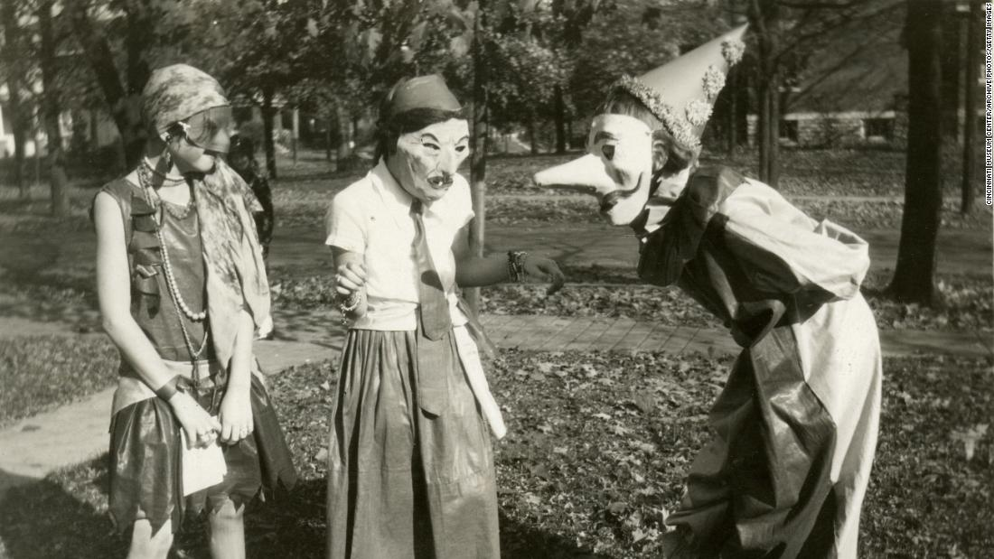 From pagan spirits to Wonder Woman: A brief history of the Halloween costume