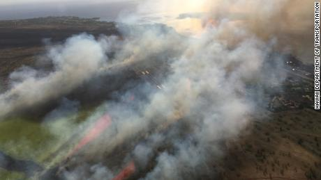 First responders evacuated the Kapalua Airport and nearby homes, the Maui Fire Department said.