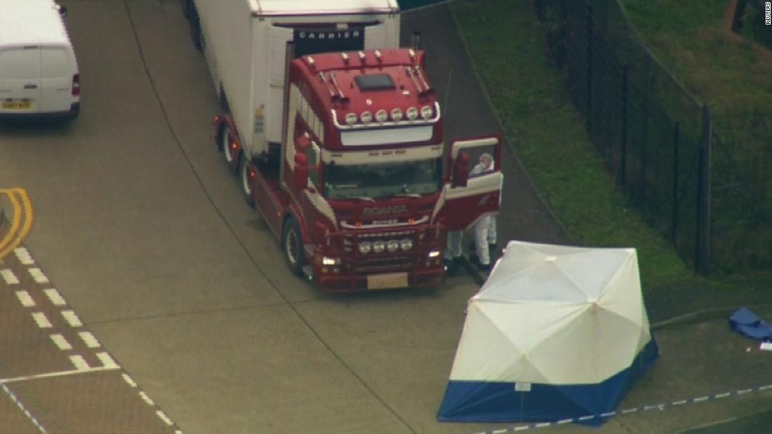 Δολοφονία έλεγχος ξεκίνησε μετά από 39 πτώματα που βρέθηκαν στο φορτηγό
