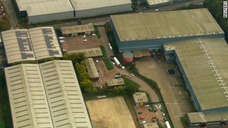 Police say the lorry is believed to have originated in Bulgaria. It entered the UK on October 19.