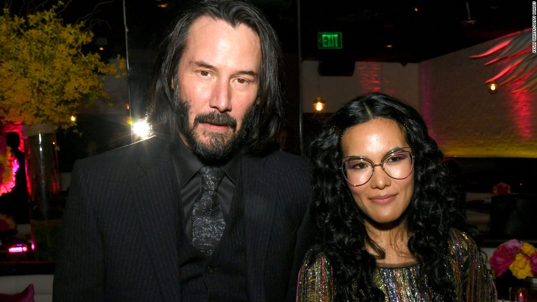 If you need some Ali Wong swag, Keanu Reeves may be able to help you