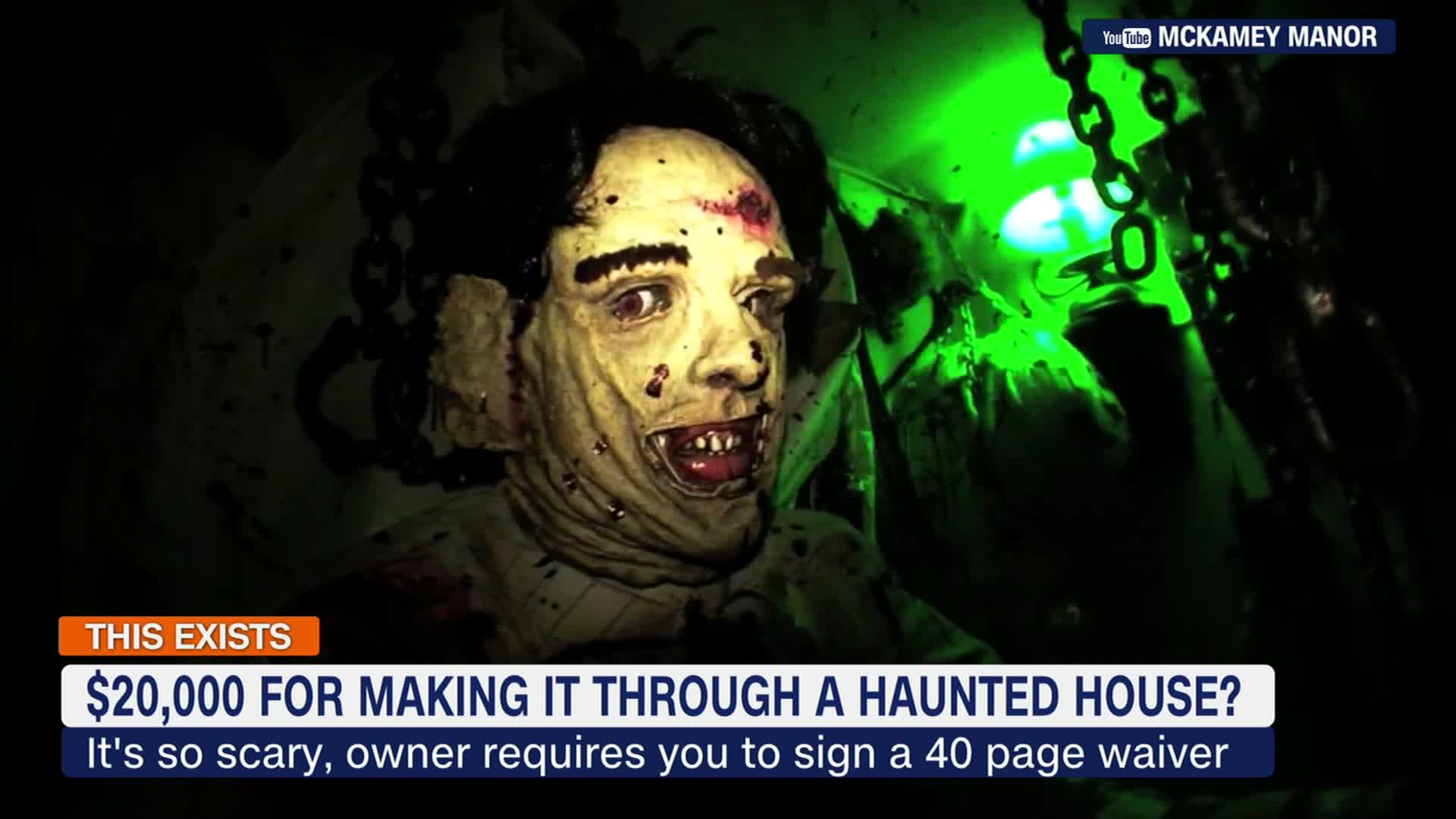 Haunted House Offering 20k To Anyone Who Makes It Through Cnn Video