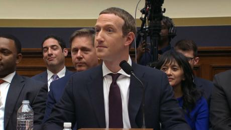 Watch Zuckerberg react when a lawmaker compares him to Trump