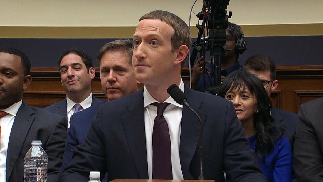 Watch Zuckerberg react when a lawmaker compares him to Trump