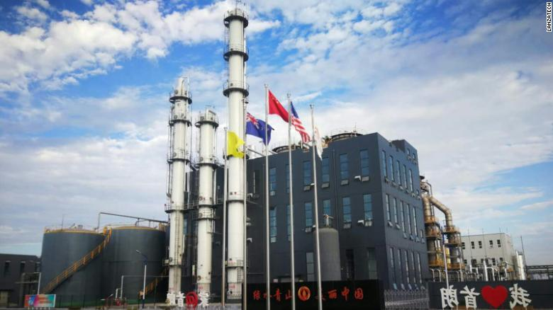 LanzaTech's first commercial plant in China