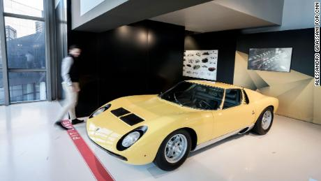The Lamborghini Miura is still regarded as one of the most beautiful cars ever made.