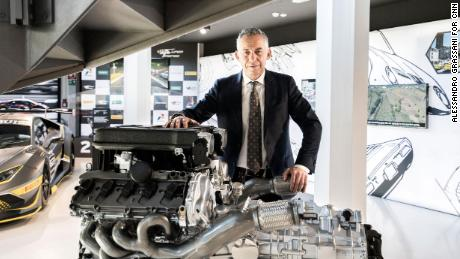 Maurizio Reggiani, Lamborghini's chief technical officer, doesn't think battery-driven supercars will perform at a high enough level.