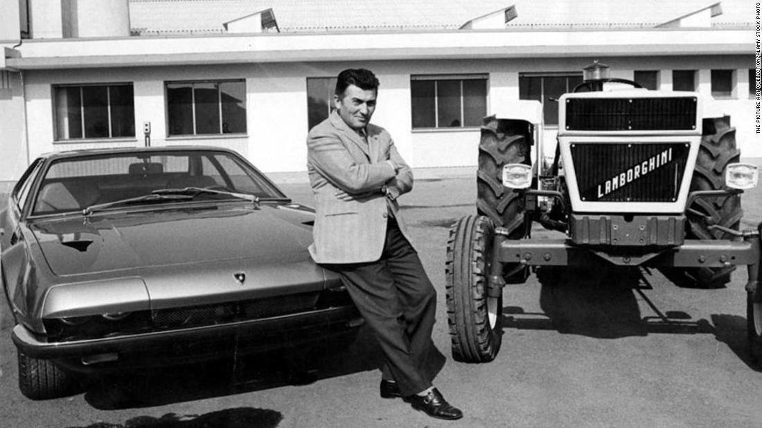 Lamborghini's founder, Ferruccio Lamborghini, decided to build his own cars. Previously, he ran a tractor company.