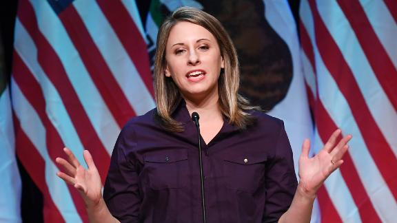 Democrat Katie Hill, who is running for Congress in California
