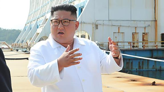 Handout photo from the KCNA, obtained by CNN Seoul Bureau