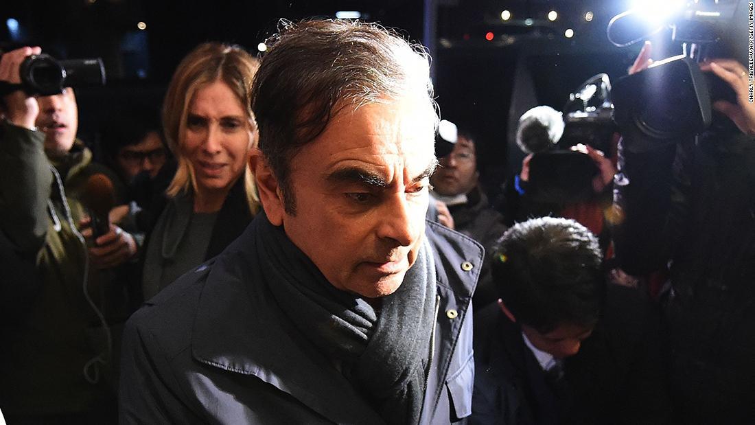 Ghosn είπε εισαγγελέων