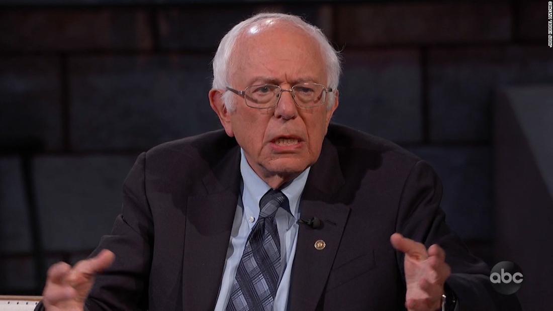 Bernie Sanders knallt GOP nicht aufstehen zu Übertrumpfen