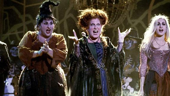 "A scene from the 1993 film ""Hocus Pocus."""