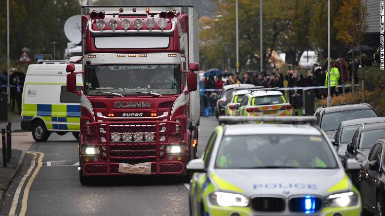 Two men found guilty of manslaughter in UK truck deaths that killed 39 Vietnamese migrants