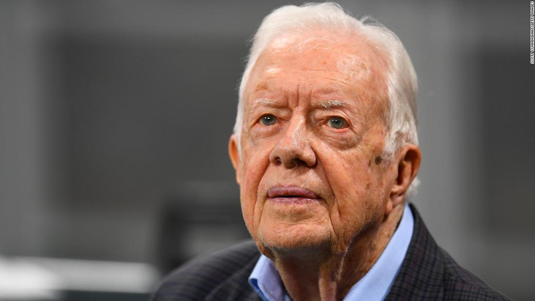 Jimmy Carter sagt, Dienst in der Kirche ist er 'ganz Locker' mit dem Tod