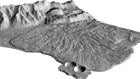 3D modeling based on images of the landslide site.
