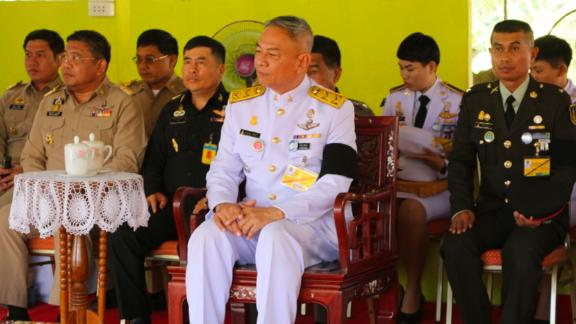 Sakolket Chantra, the police lieutenant general of Thailand's Royal Household Bureau, was fired on October 24, 2019.