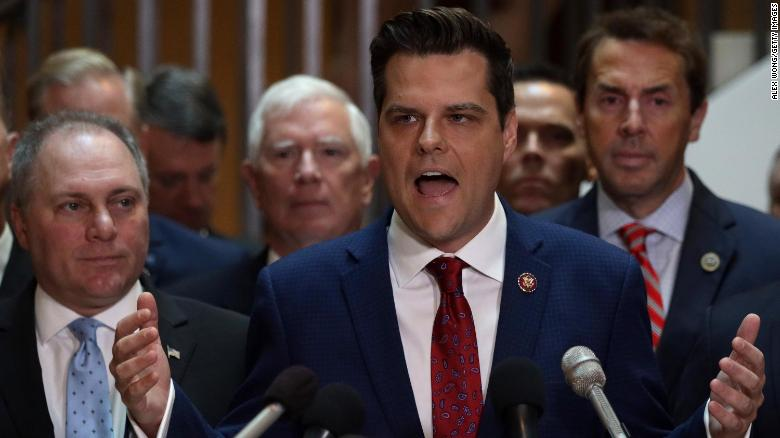 The one *big* problem with Matt Gaetz's explanation