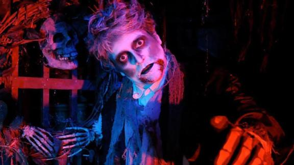 Scared by the Sound (Rye, New York): They say the fear is audible. And it looks pretty darn scary, too. This annual haunted attraction is located inside Playland Park amusement park.