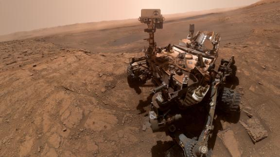 NASA's Curiosity rover took this selfie on October 11, the 2,553rd Martian day, or sol, of its mission.