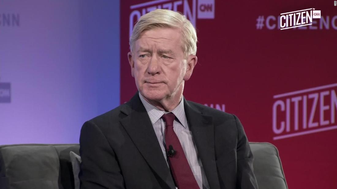 Bill Weld files for New Hampshire primary
