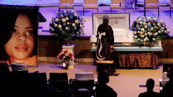 Atatiana Jefferson's funeral service was held at Concord Church in Dallas nearly two weeks after she was killed.