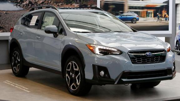 The 2018 Subaru Crosstrek is one of the vehicles involved in the two recalls.