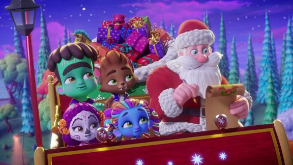 """""""Super Monsters Save Christmas"""": It"""