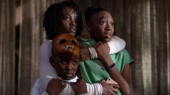 """""""Us"""": A family on vacation is terrorized by their doppelgängers in this horror film from the mind of Jordan Peele. (HBO Now)"""