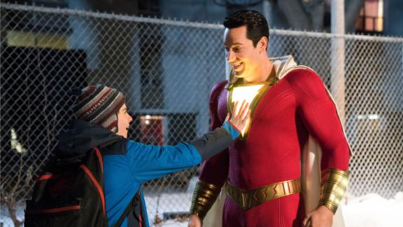 """""""Shazam!"""": A streetwise 14-year-old foster kid discovers he has the power to become a superhero with just one word. (HBO Now)"""