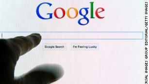 Google search engine opened on computer monitor at the home page ready for a search string to be typed into the blank search box. (Photo by: Education Images/Universal Images Group via Getty Images)