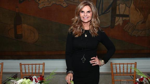 Maria Shriver wants to get people talking. (Photo credit: Ancestry)