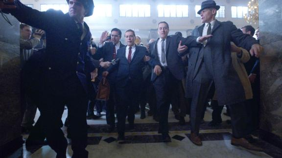 Ray Romano, Al Pacino and Robert De Niro in 'The Irishman'