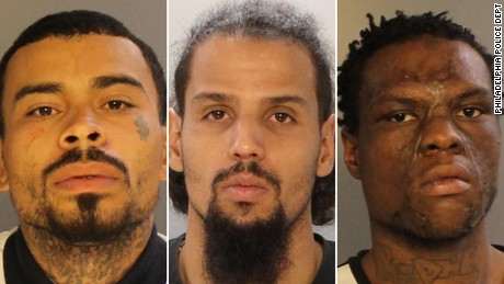 Philadelphia police announced the arrests of three men, Francisco Ortiz, Freddie Perez, and Tavon Thomas, involved in two separate shootings last weekend that left a 2-year-old girl shot to death and an 11-month-old in critical condition with four gunshot wounds.