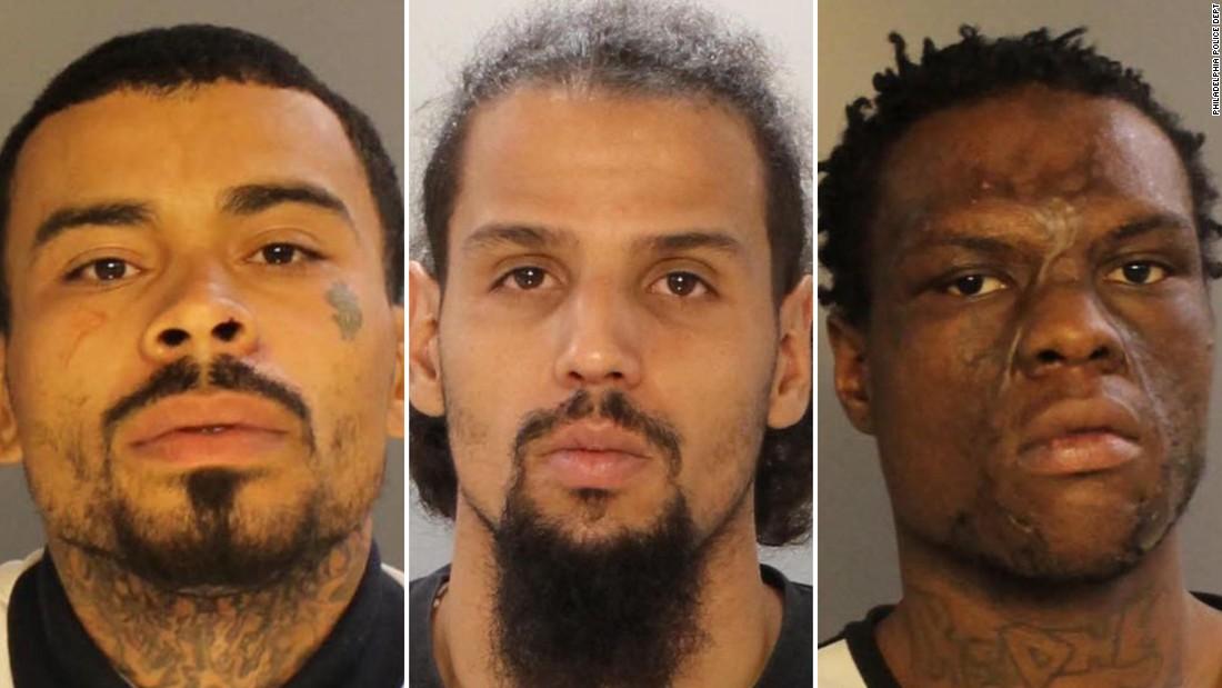 3 ditangkap di Philadelphia penembakan 2 anak-anak