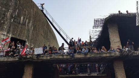 For over a week, protesters have taken over abandoned structures long shut off to the public.