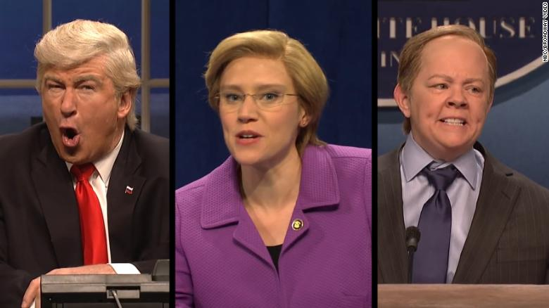 These are 'SNL's' best impressions of political figures