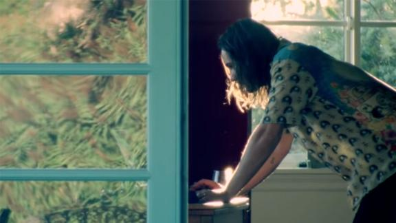 A screenshot from Tame Impala's video offering fans a sneak peek of the band's new album.