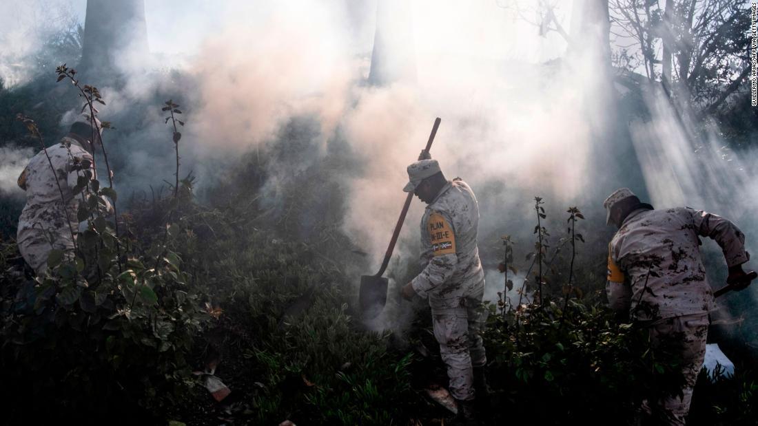 Zwei tote in Baja Kalifornien Waldbrände