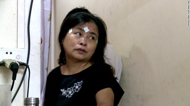 Nguyen Thi Phong said she hoped the UK authorities could help bring her daughter's body home.