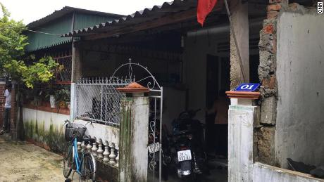 House of Nguyen Ti Fong and Pham Van Tong in Vietnam, Ha Ting Province.